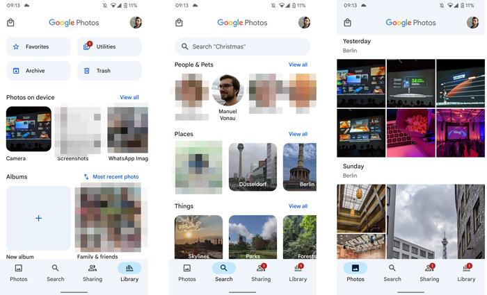 Google Foto's material You