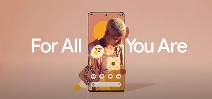 Pixel 6 schittert in video-teaser; aankondiging 19 oktober?