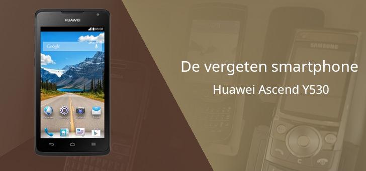 Huawei Ascend Y530 vergeten header