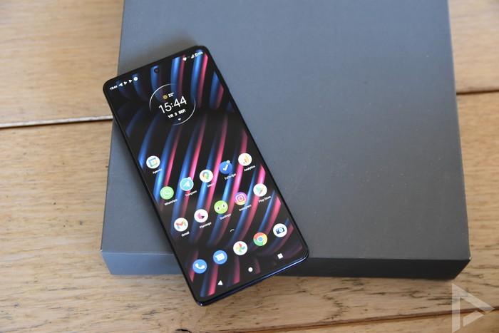 Motorola Edge 20 Pro beeldscherm review