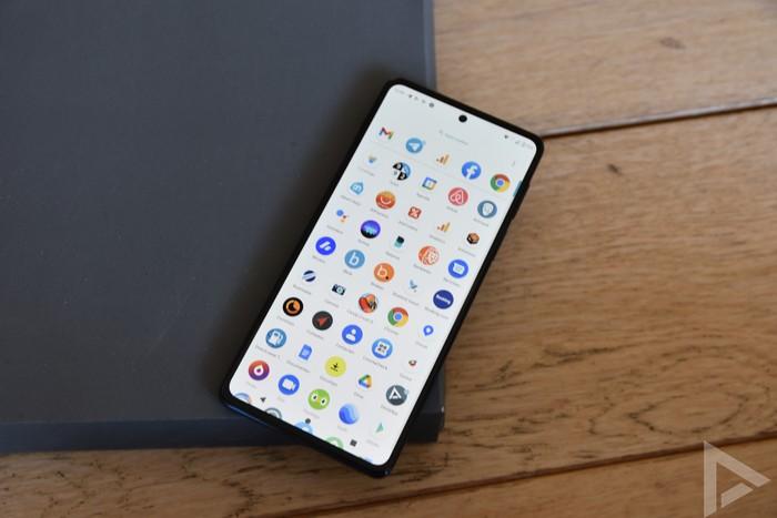 Motorola Edge 20 Pro menu