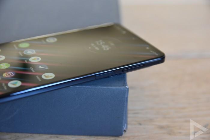 Motorola Edge 20 Pro vingerafdrukscanner