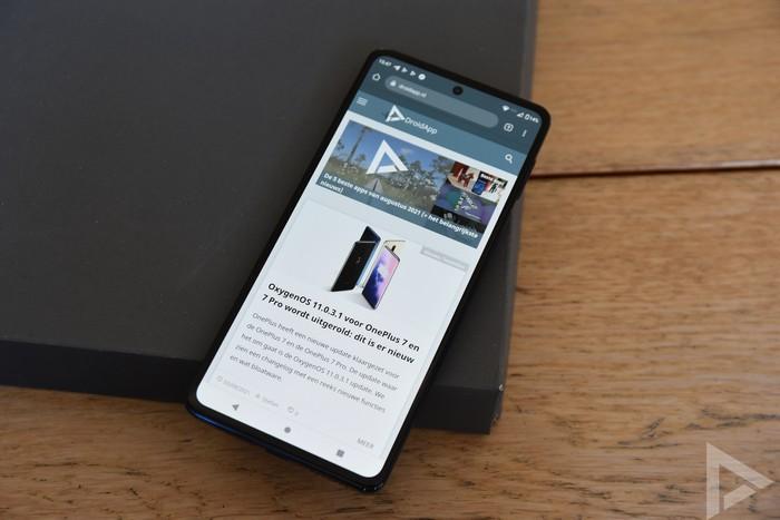 Motorola Edge 20 Pro internet