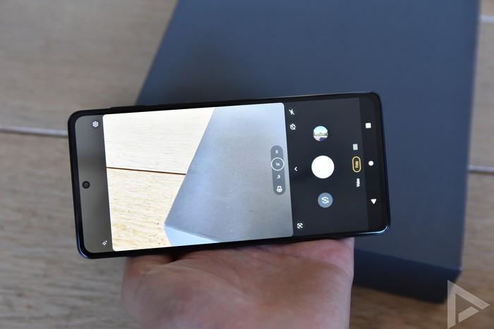 Motorola Edge 20 Pro camera-app