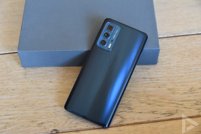 Motorola Edge 20 Pro achterkant