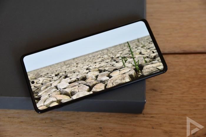 Motorola Edge 20 Pro beeldscherm display