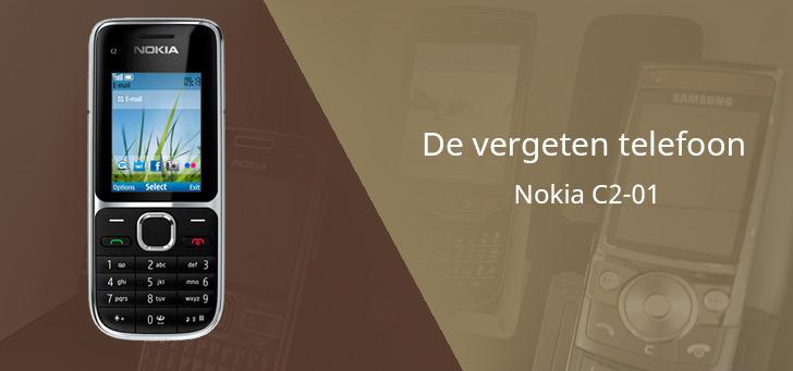 De vergeten telefoon: Nokia C2-01 uit 2011
