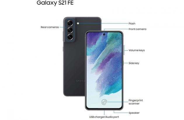 Samsung Galaxy S21 FE handleiding uitgelekt