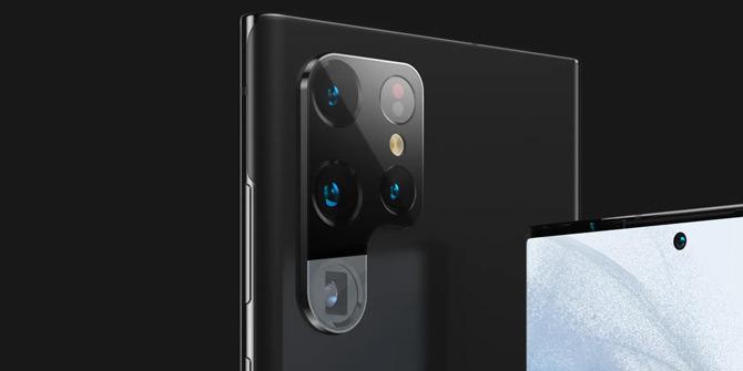 Samsung Galaxy S22 Ultra render 2