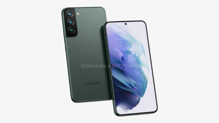 Samsung Galaxy S22+ render