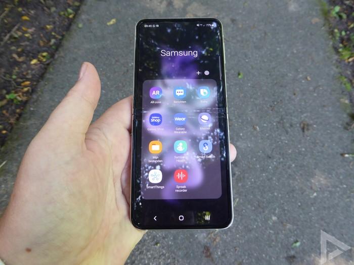 Samsung Galaxy Z Flip 3 apps