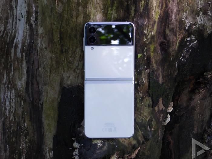 Samsung Galaxy Z Flip 3 achterkant
