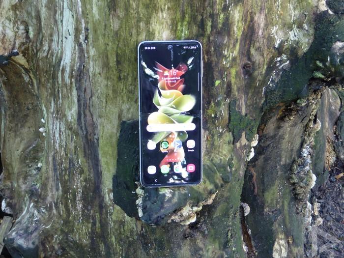 Samsung Galaxy Z Flip 3 homescreen