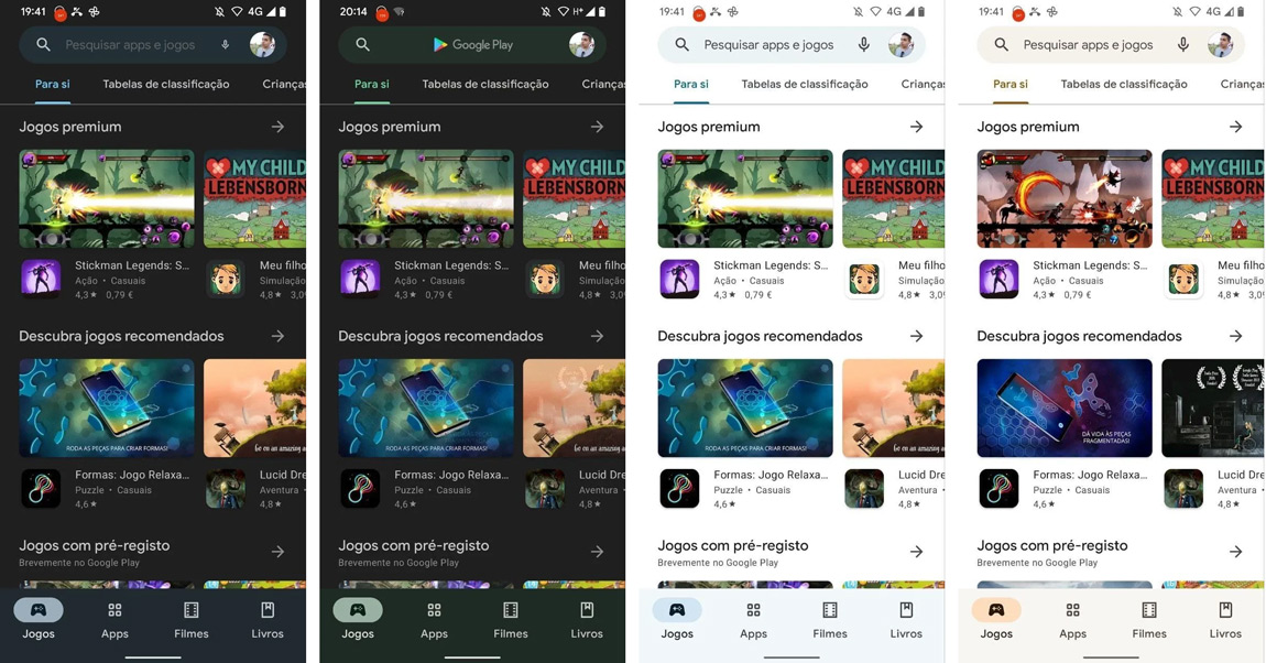 Google Play Store Material You