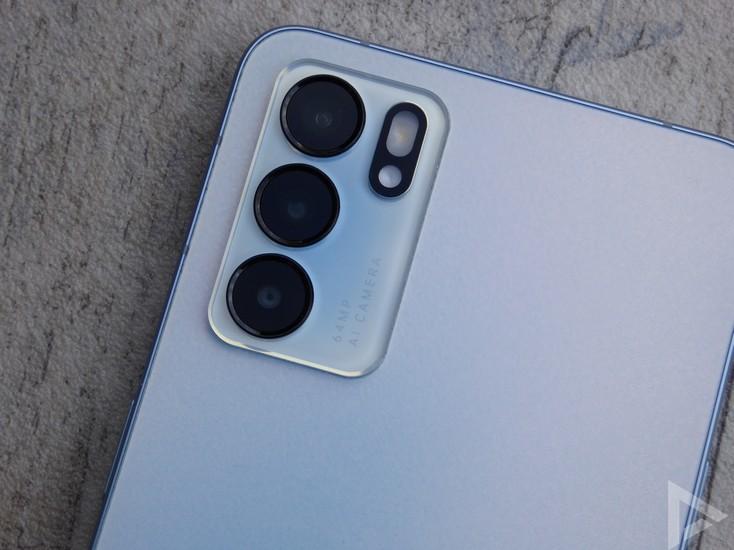 Oppo Reno 6 camera