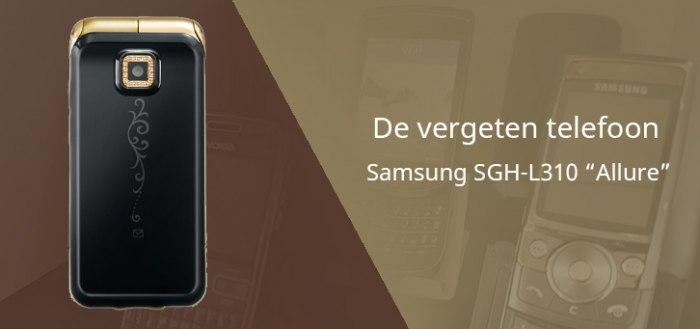 De vergeten telefoon: Samsung SGH-L310 Allure uit 2008